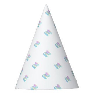 crystal party hat