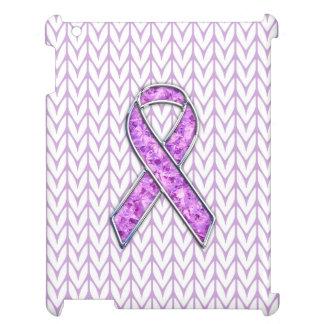 Crystal Pink Ribbon Awareness Knitting Cover For The iPad