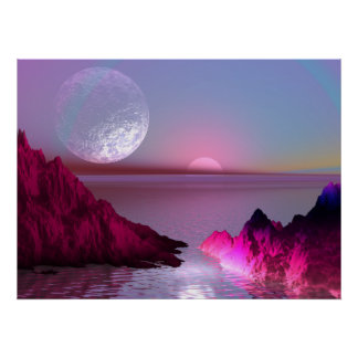 Crystal Planet Poster