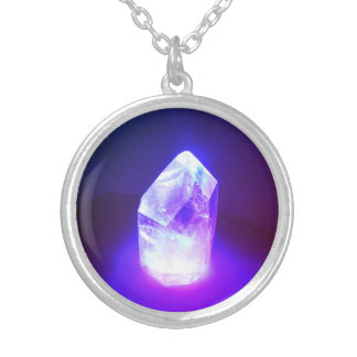 Crystal Power Silver Plated Necklace