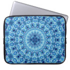 Crystal Radiance Mandala Laptop Sleeve