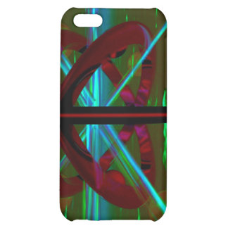 Crystal Sculpture, Abstract Art iPhone 5C Cases