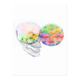 Crystal Skull DMT Pineal Alchemy Postcard