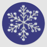 Crystal Snowflake Sticker