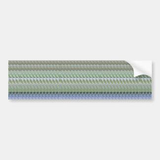 CRYSTAL STONE JEWEL DIY Template NVN434 LARGE Bumper Sticker