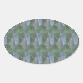 CRYSTAL Stone Jewel Healing Success FUN RT NVN472 Oval Sticker