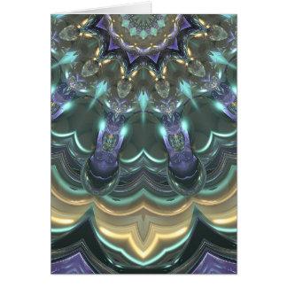 Crystal Sun Reflections Card