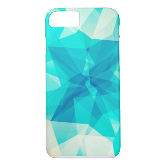 Crystal teal iphone case