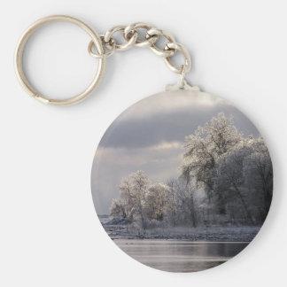 Crystal Trees Keychain