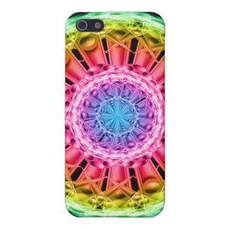 Crystal Vortex Mandala iPhone 5/5S Covers