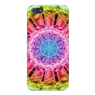Crystal Vortex Mandala iPhone 5 Cover