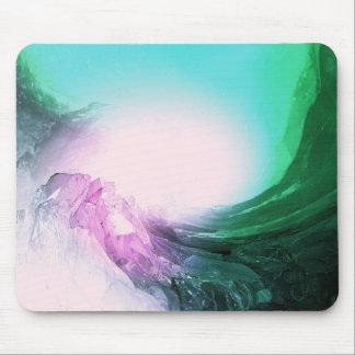 Crystal Wave Mouse Pad