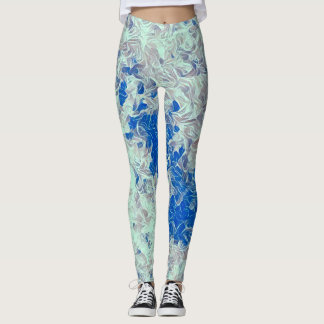 Crystal Waves Rave Love Leggings