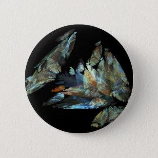 Crystalize 6 Cm Round Badge