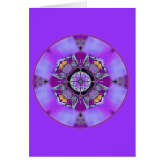 Crystalized Crown Chakra Flow Card