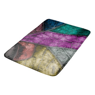 Crystalized Stained Glass Look Bath Mat Bath Mats