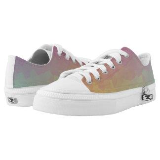 Crystalline Gradient Wallpaper Shoes