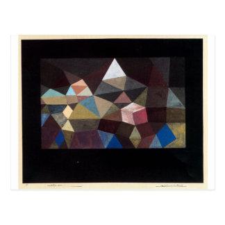Crystalline Landscape by Paul Klee Postcard