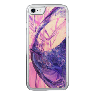 Crystallized Abstract Carved iPhone 7 Case