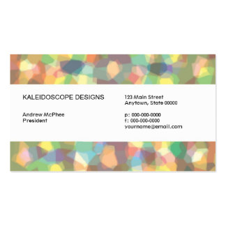 Crystallized Business Card
