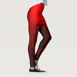 Crystallized Red Apple Leggings