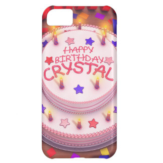 Crystal's Birthday Cake iPhone 5C Case