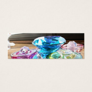 Crystals & Color Bookmark Mini Business Card