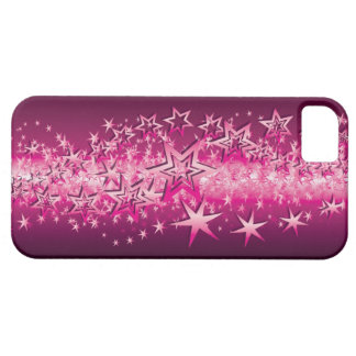 Crystals Pink Stars iPhone 5 Covers