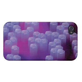 Crystals Savvy iPhone 4 Case