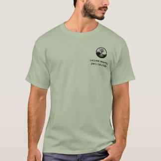 CRZC t-shirt with oak tree yin yang