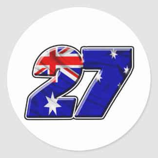 CS27flag Sticker
