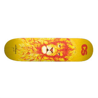 CS Lion Deck Skateboard Deck
