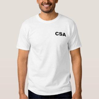 CSA - Crime Scene Analyzer Tee Shirts