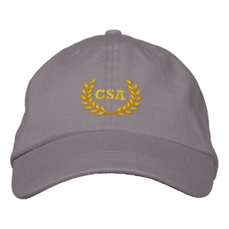 CSA with laurel (Embroidered) Embroidered Hat