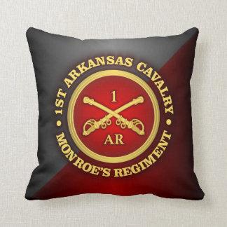 CSC -1st Arkansas Cavalry Throw Pillow