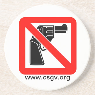 csgv-logo-large, www.csgv.org sandstone coaster