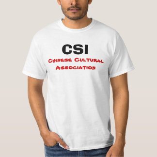 CSI, Chinese Cultural Association T-Shirt