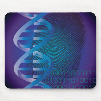 CSI DNA Fingerprint Mouse Pad
