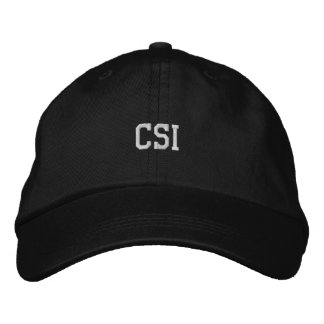CSI Embroidered Hat
