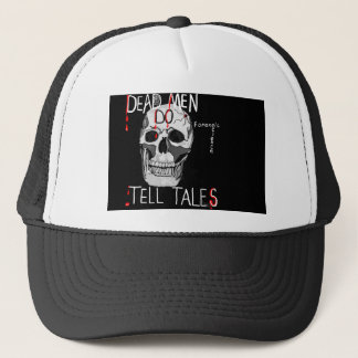 csi forensic science hat skull