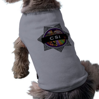 CSI Las Vegas TV Show Doggie Shirt
