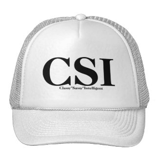 CSI T-shirts and Gifts. Cap