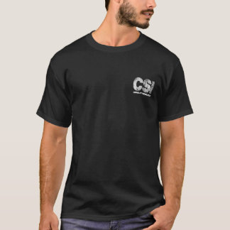 CSI Unauthorized Skull T-Shirt