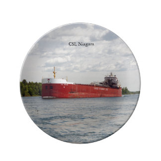 CSL Niagara decorative plate