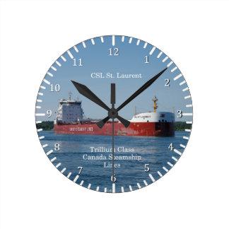 CSL St. Laurent clock