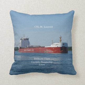 CSL St. Laurent square pillow
