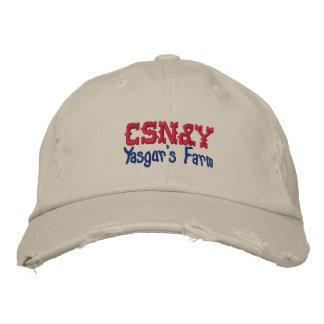 CSN&Y Yasgur's Farm Embroidered Hat