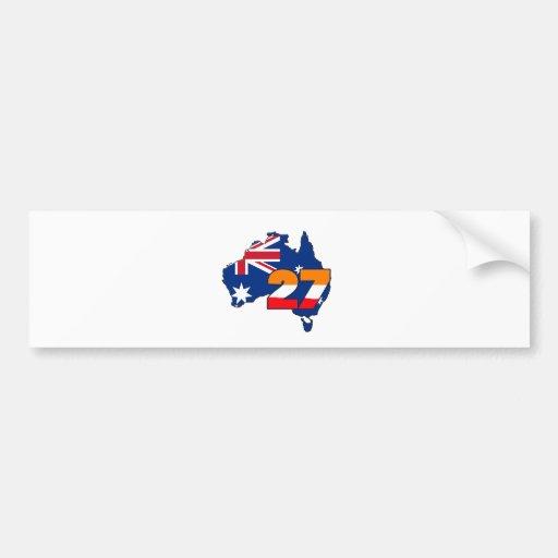 CSREP27austrailianew Bumper Sticker