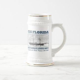 CSS Florida Beer Stein