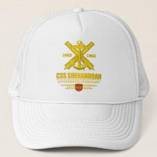 CSS Shenandoah (Navy Emblem) gold Trucker Hat